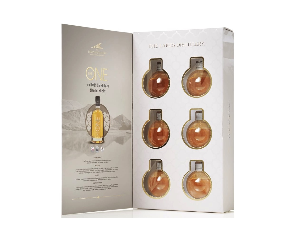 Master of Malt ONE Bauble Whiskey Ornaments