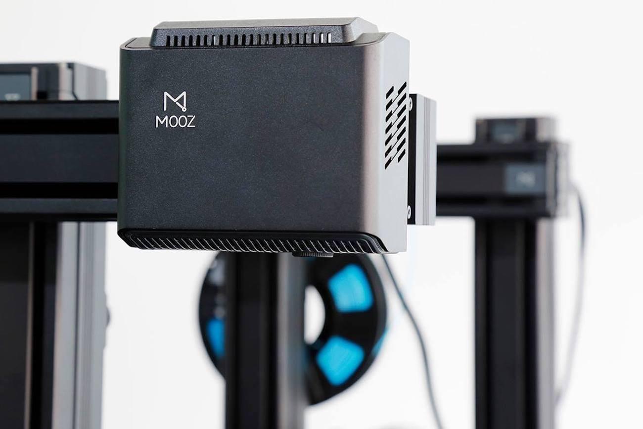 Mooz Transformable Metallic 3D Printer