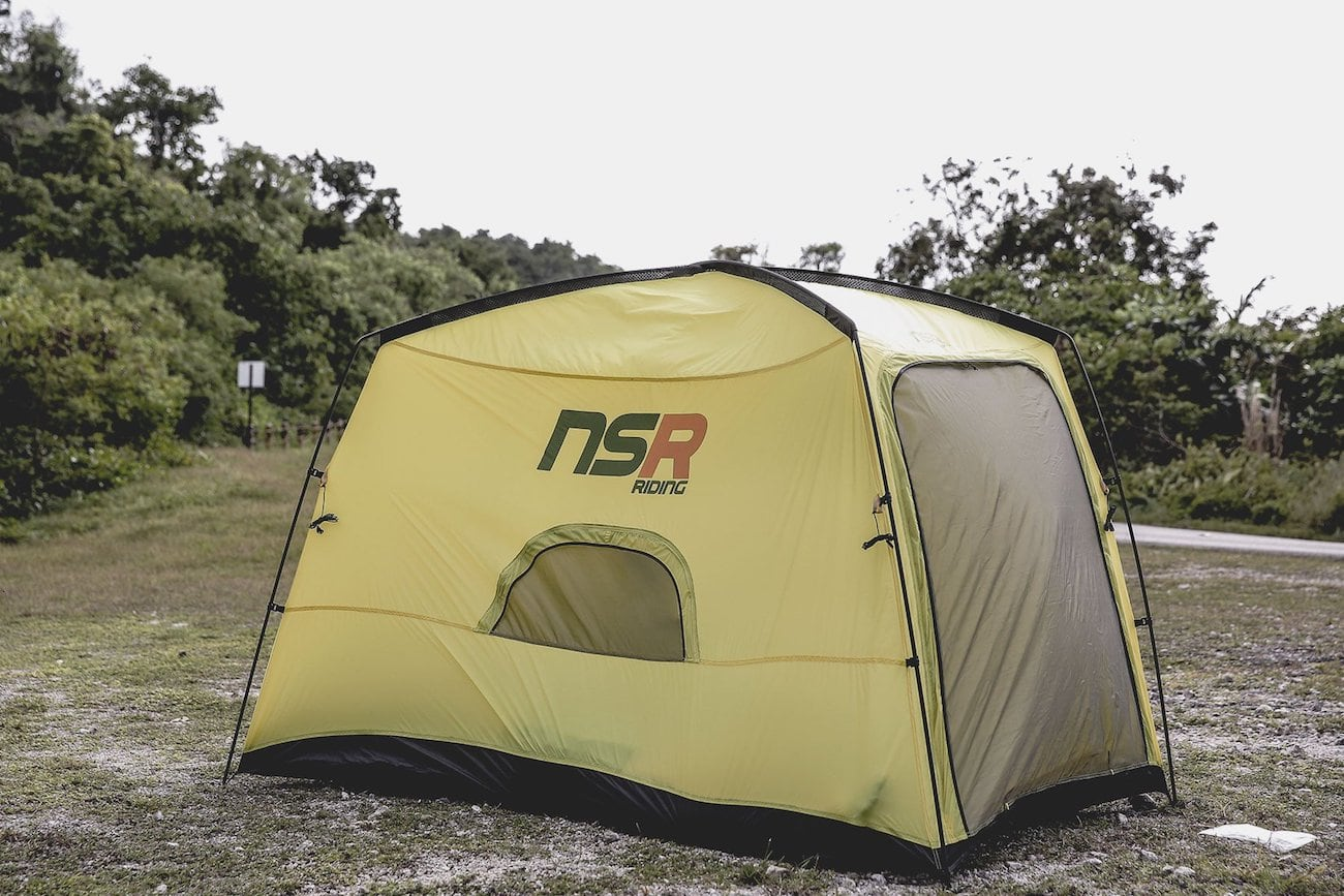 NSR Riding Bicycle Tour Camping Tent » Gadget Flow