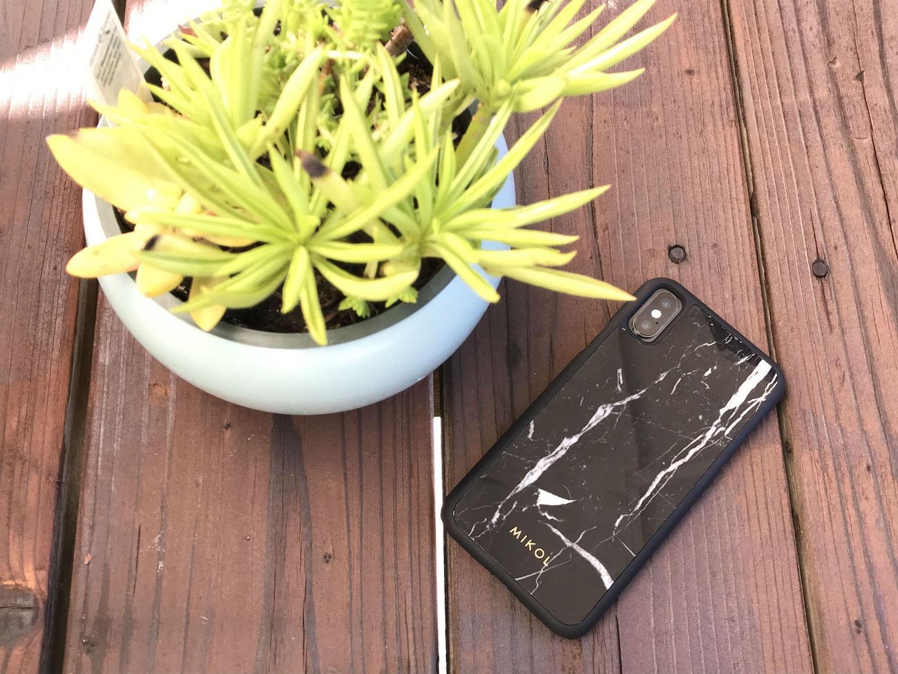 Nero Gold Marble iPhone Case
