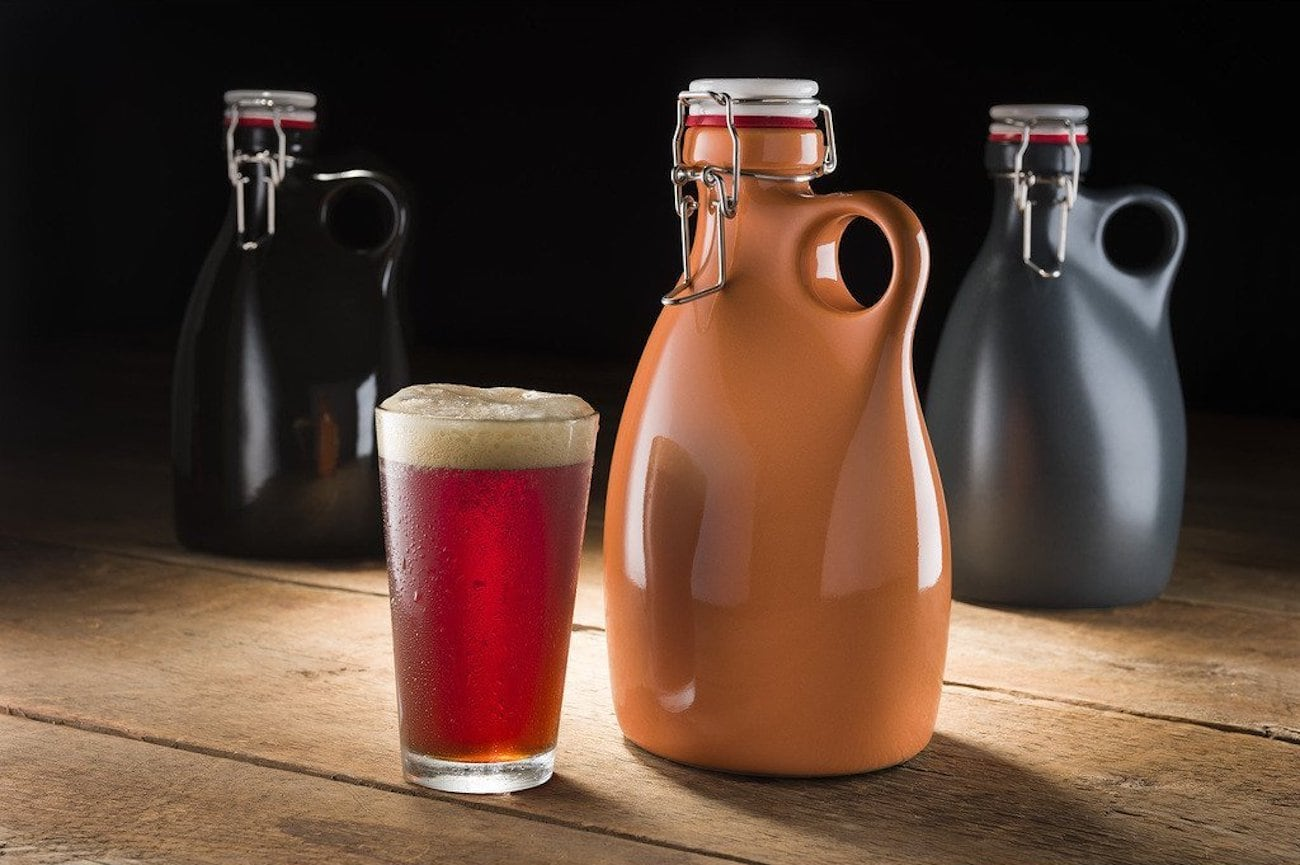 Orange Vessel Co. Stoneware Growler