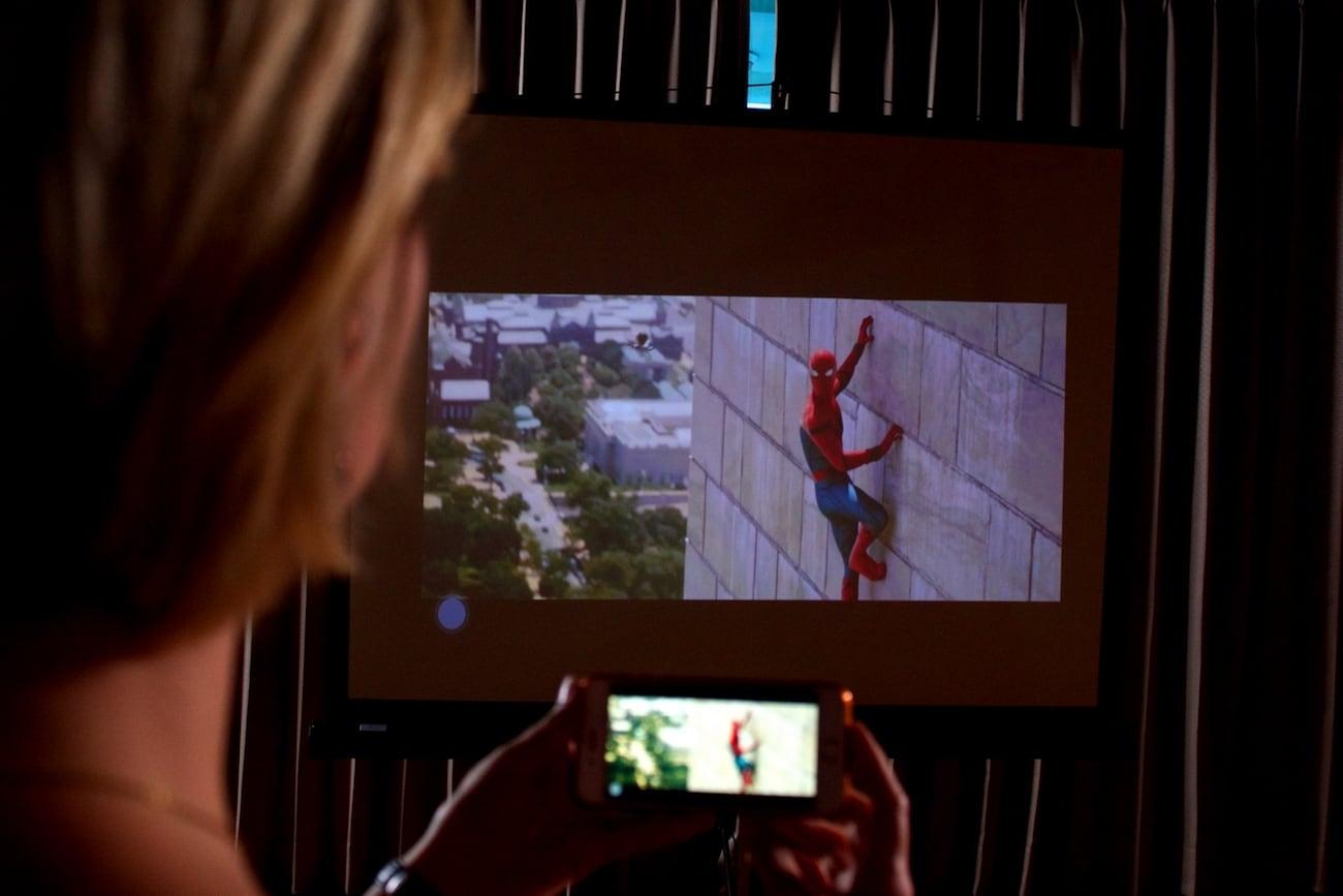 OrbitBeam Portable iPhone Projector