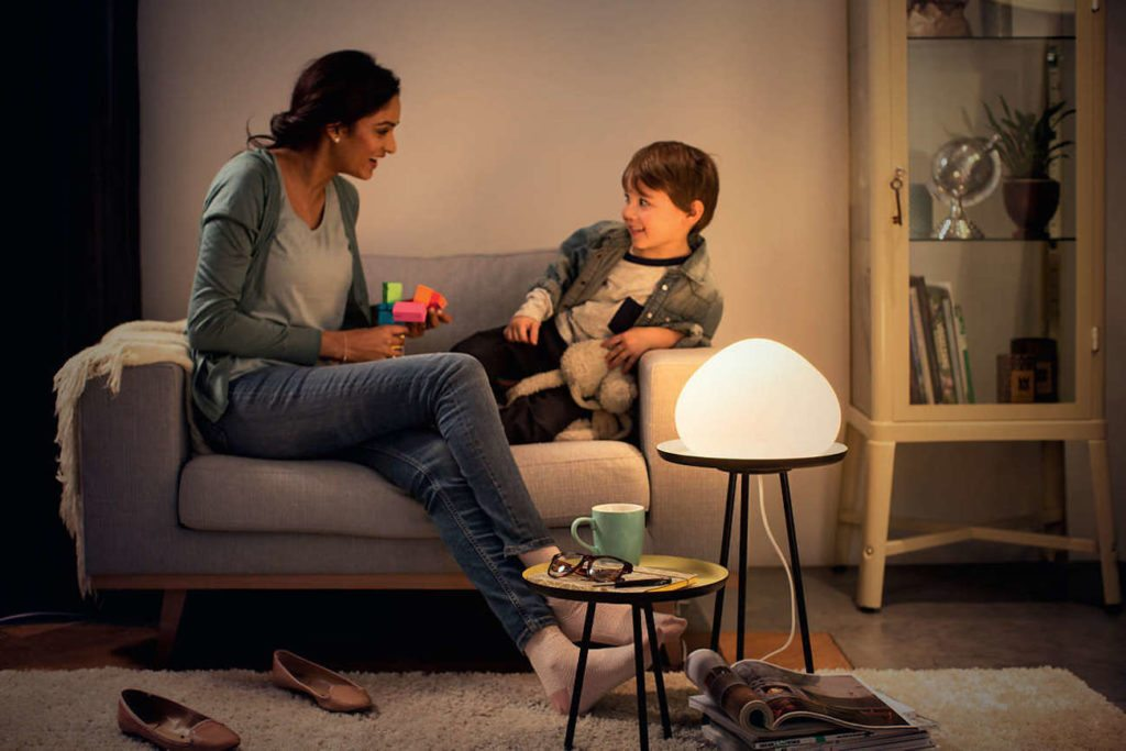 Philips+Hue+Wellner+Dimmable+Smart+LED+Table+Lamp