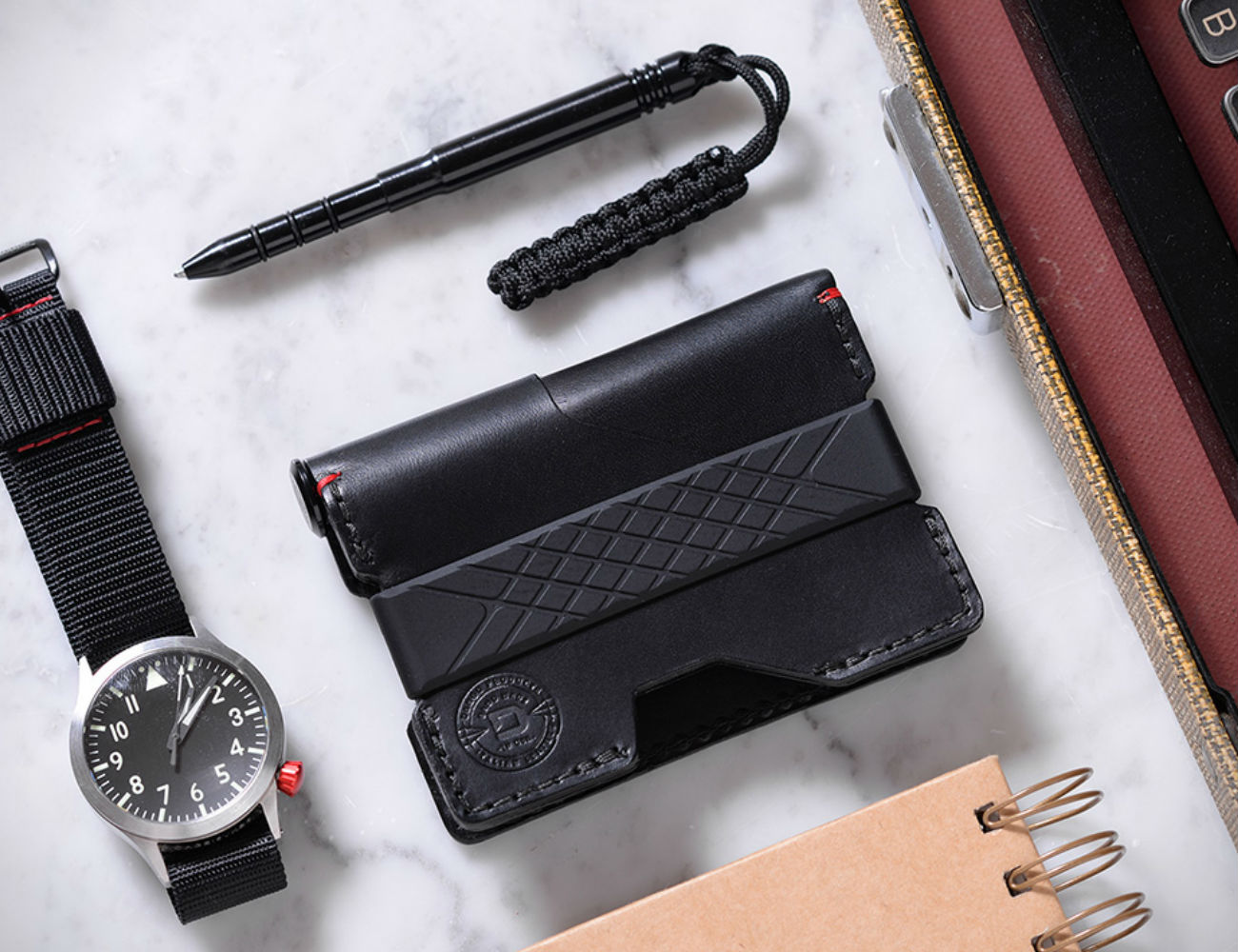Pioneer Bifold Wallet and Pen by Dango Products