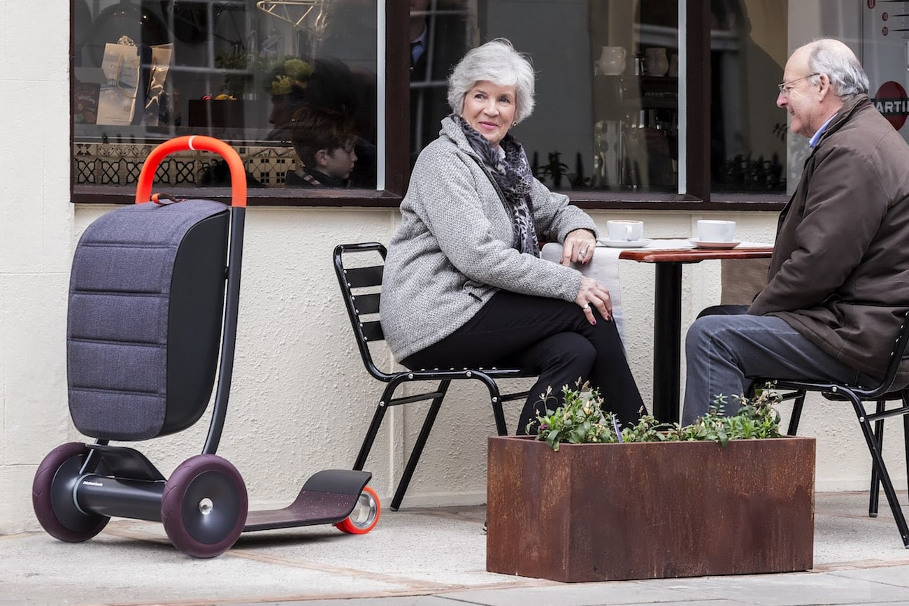 PriestmanGoode Adapting Scooter for Life