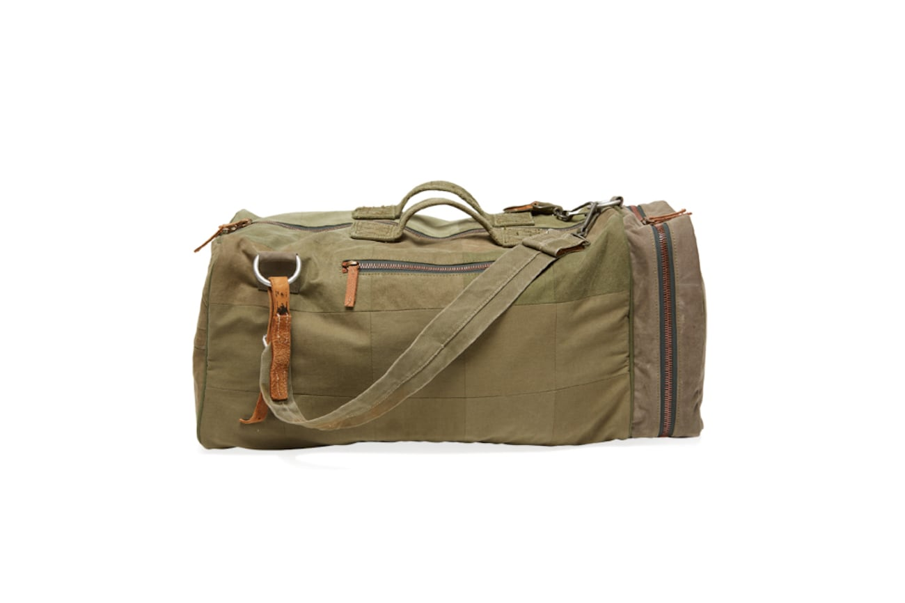 RE-MFRD Recycled Canvas Backpack Duffle