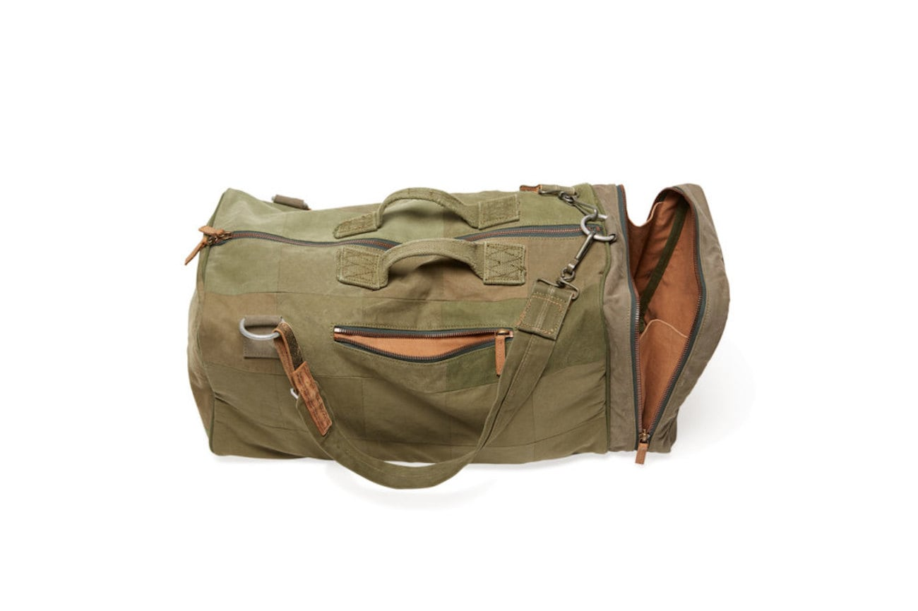 Re Mfrd Recycled Canvas Backpack Duffle Gadget Flow