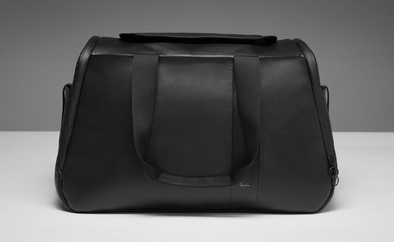 Rapha Spacious Leather Weekend Bag