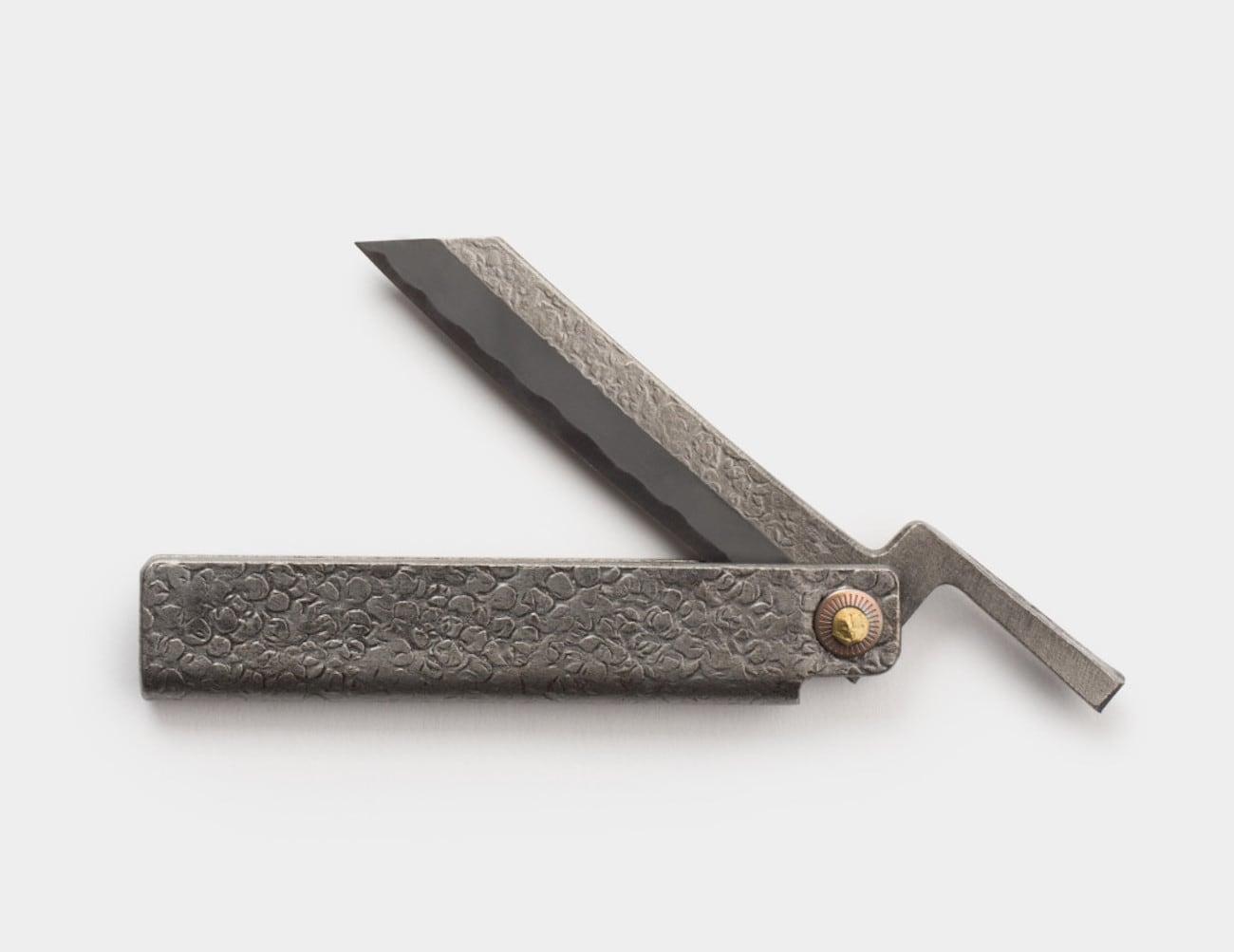 Sanjo Hammered Higo Knife