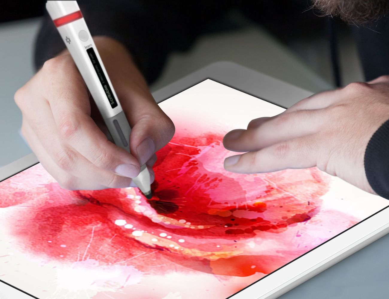 Scribble+Smart+Pen+And+Touchscreen+Stylus