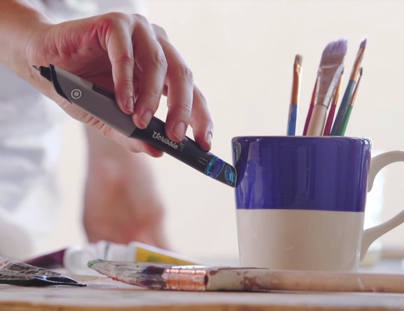 Scribble Smart Pen and Touchscreen Stylus