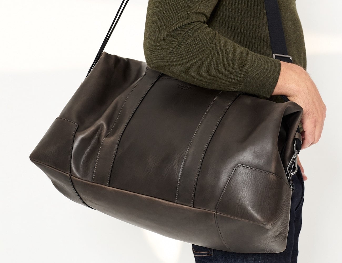 Shinola Large All-Leather Carryall