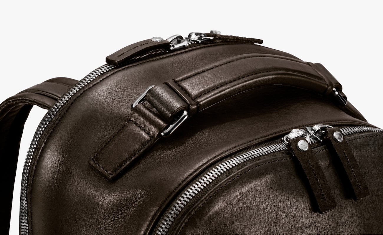 Shinola Runwell All Leather Backpack