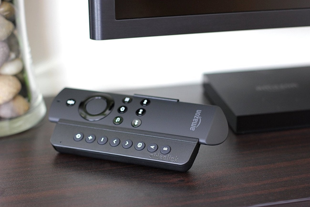 Sideclick Amazon Fire TV Remote Attachment