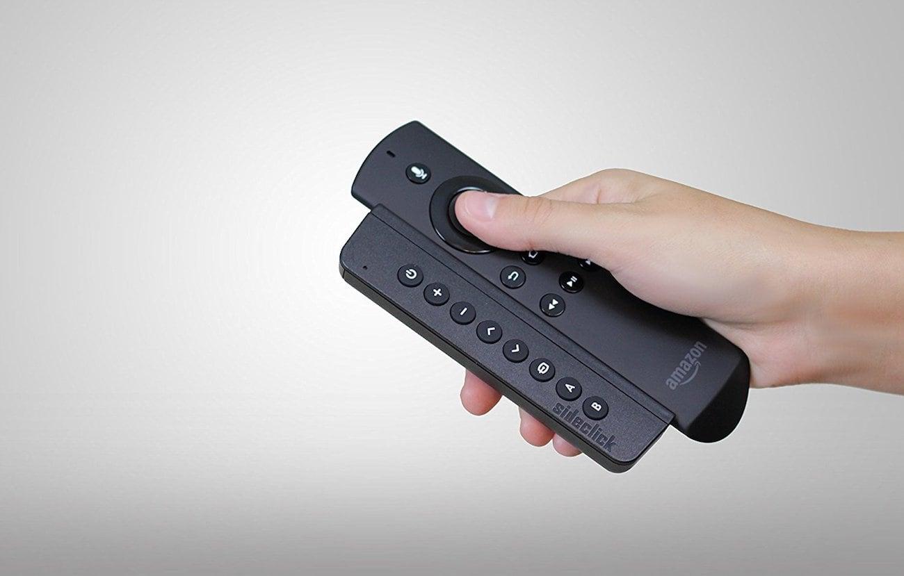 Sideclick Amazon Fire TV Remote Attachment