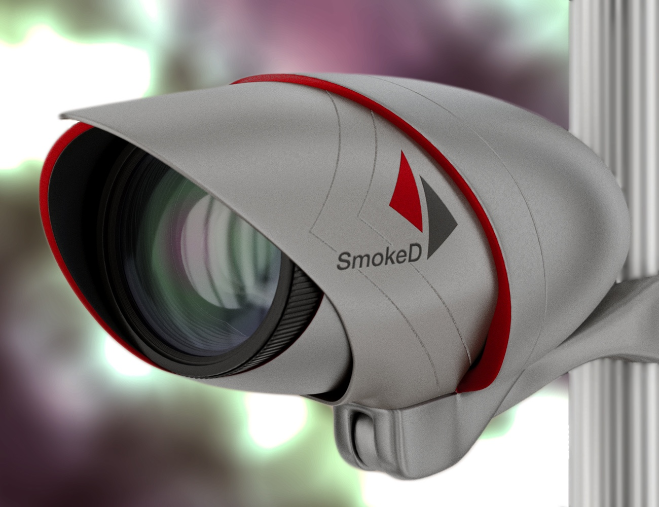 SmokeD Smart Fire Detection Camera