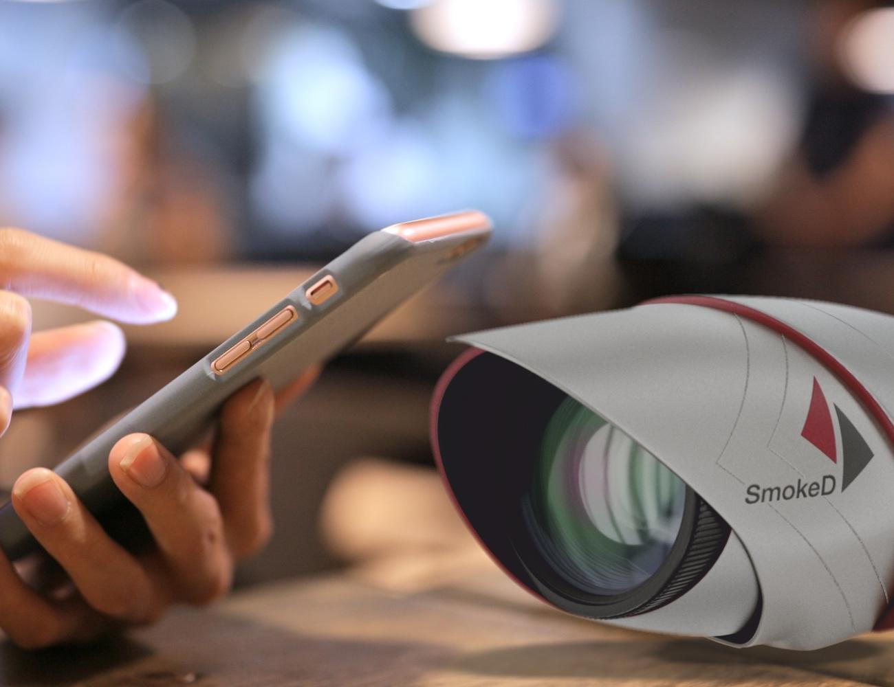 SmokeD Smart Fire Detection Camera