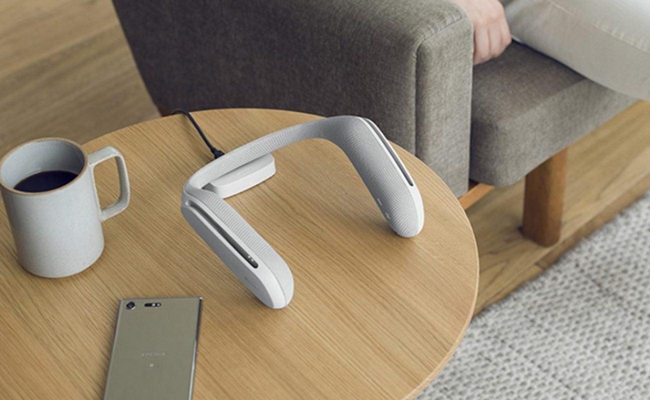Sony SRS-WS1 Wearable Neck Speaker