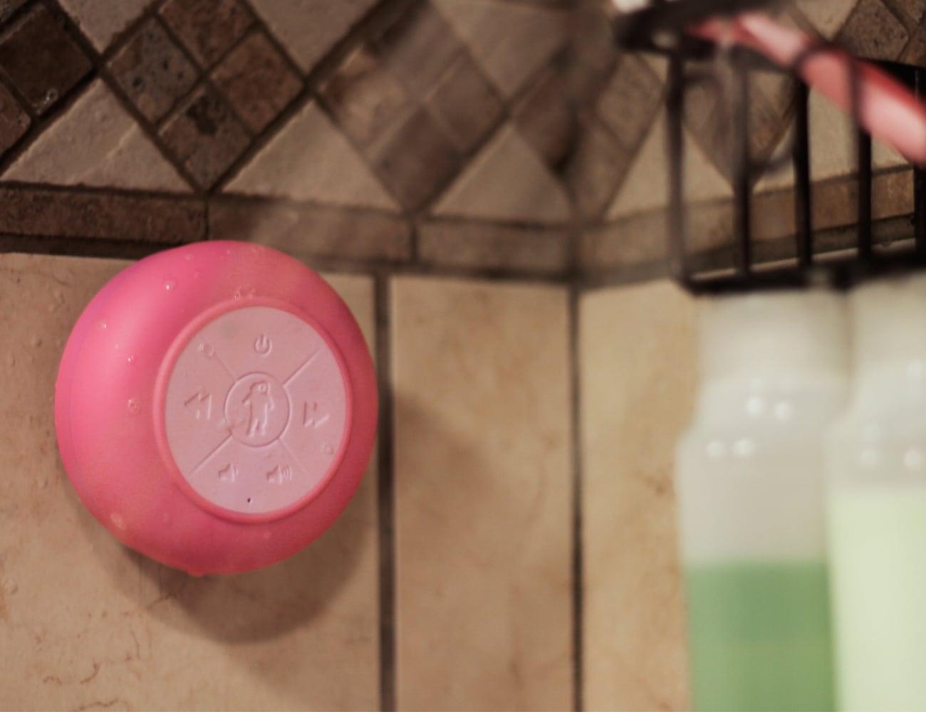 Splash Tunes Pro Bluetooth Shower Speaker