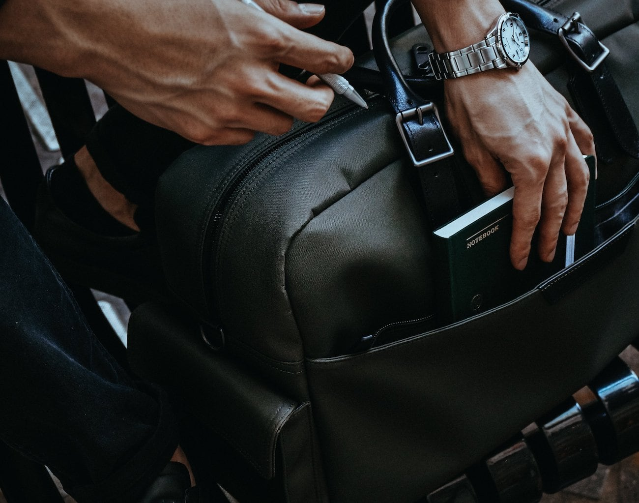 Stuart & Lau Campaign Multipurpose Carryall Bag
