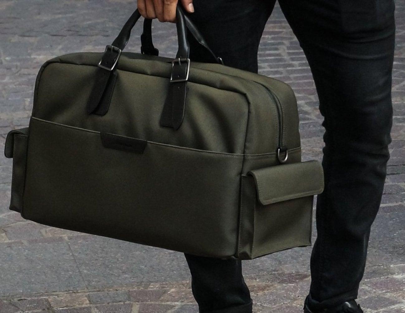 Stuart Lau Campaign Multipurpose Carryall Bag