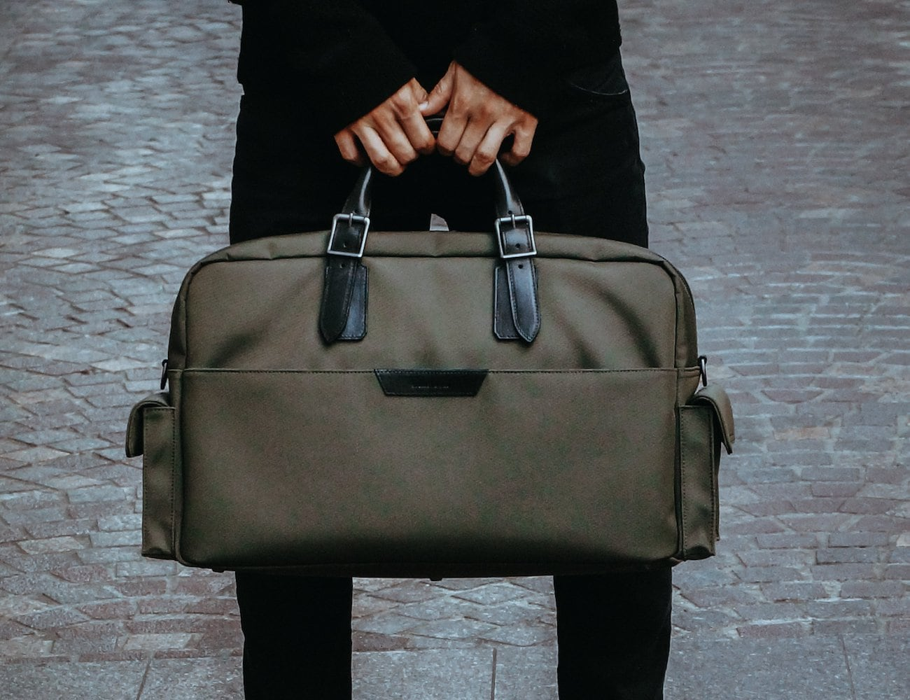 Stuart & Lau Campaign Multipurpose Carryall Bag
