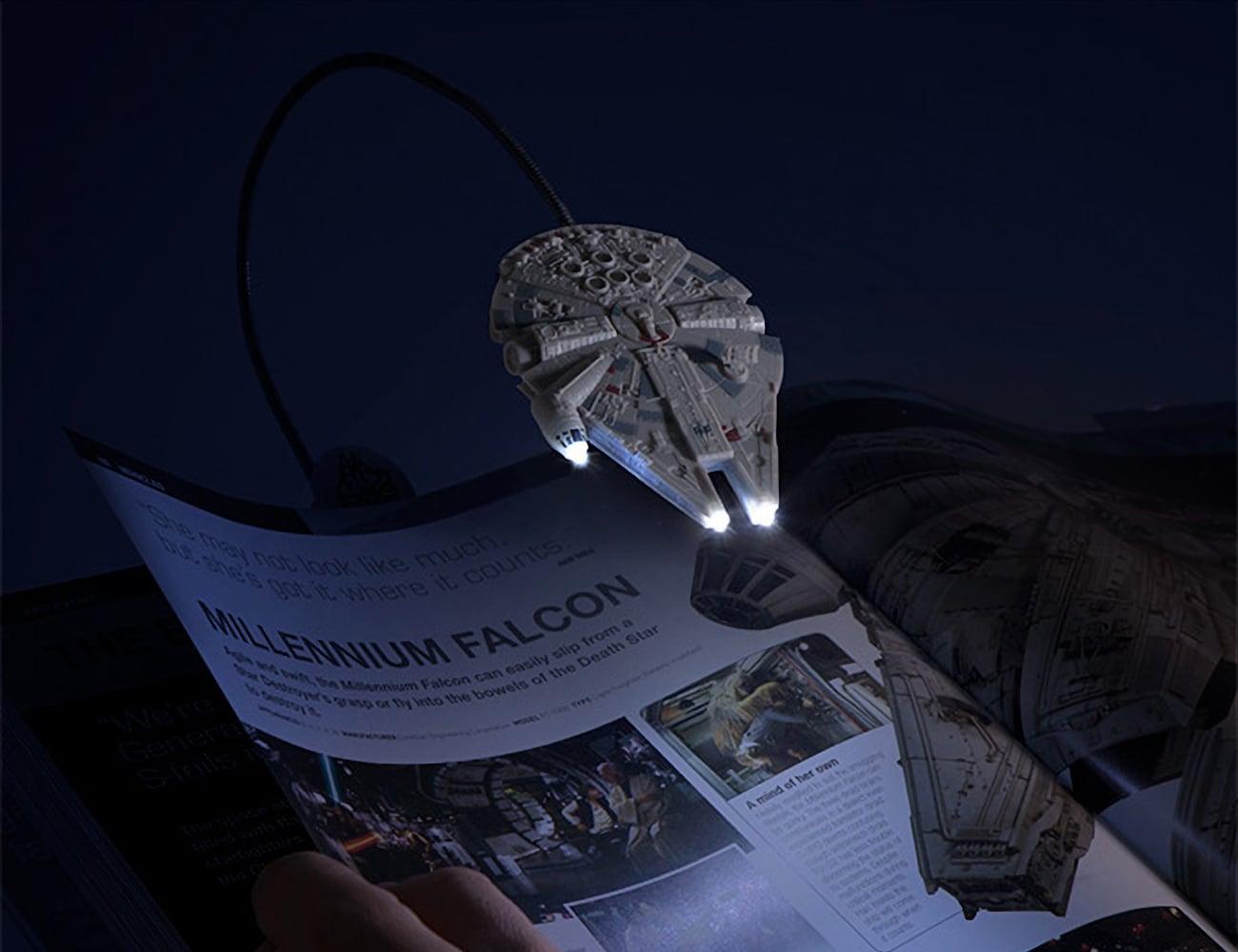 ThinkGeek Millennium Falcon Book Light