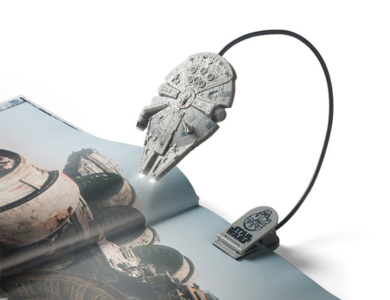 ThinkGeek Millennium Falcon Book Light