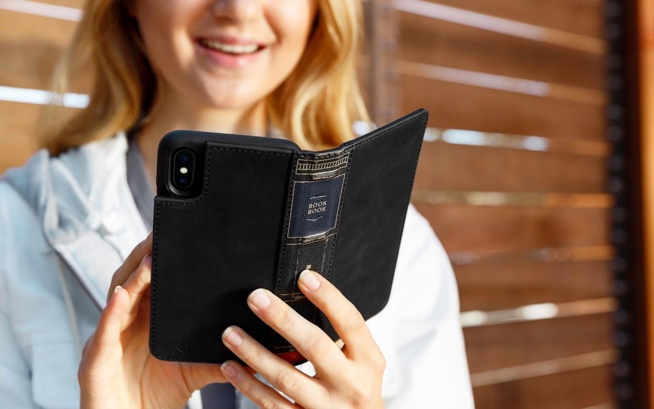 Twelve South BookBook iPhone X Book Case