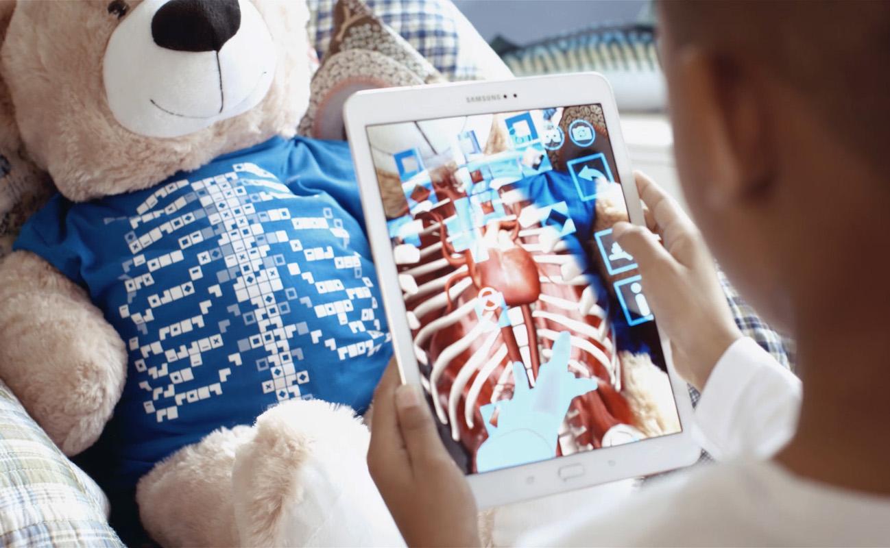 Virtuali-Tee AR Anatomy T-Shirt