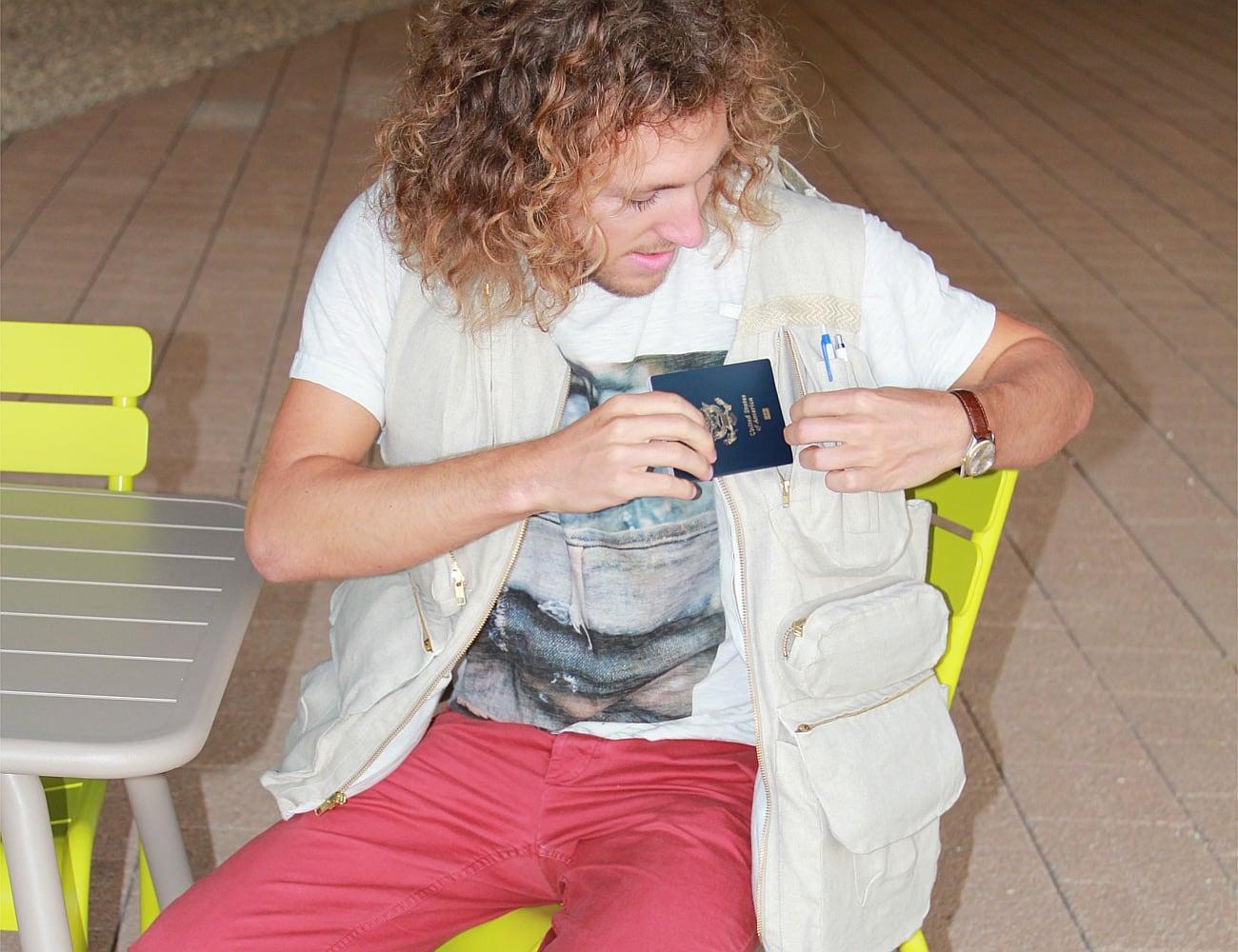 Wandervest Natural Fiber Travel Vest