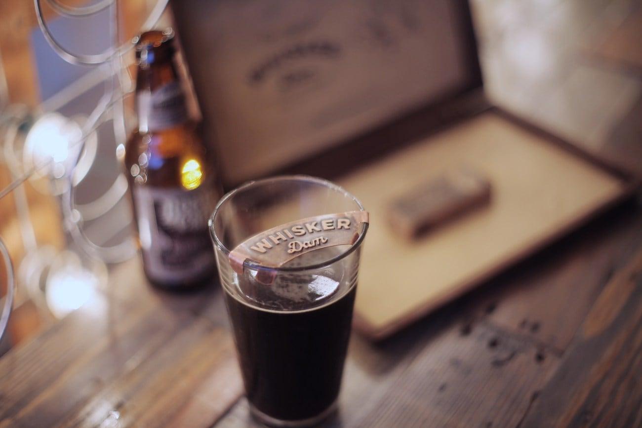Whisker+Dam+Mustache+Beer+Foam+Guard