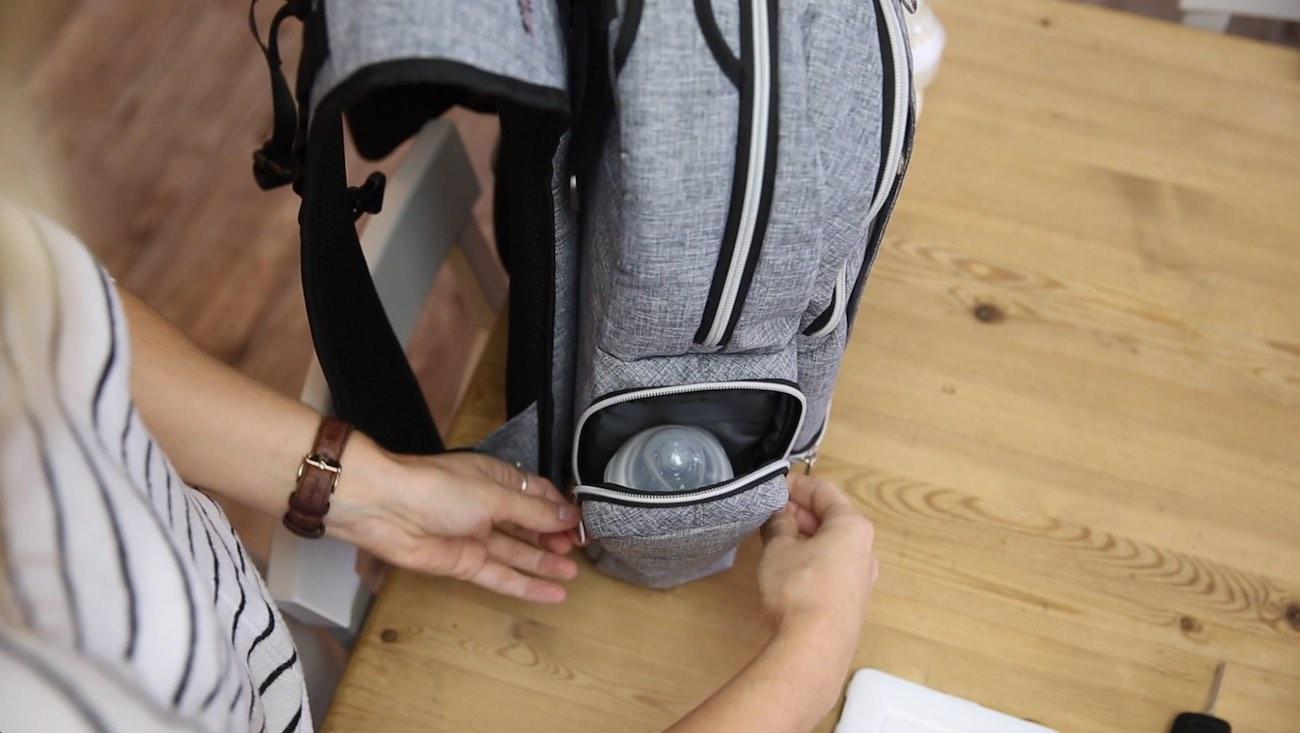 Wolffepack Luna UltraEasy Baby Changing Backpack
