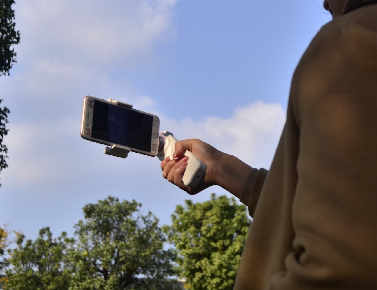 X-CAM SIGHT2S Affordable Smartphone Stabilizer