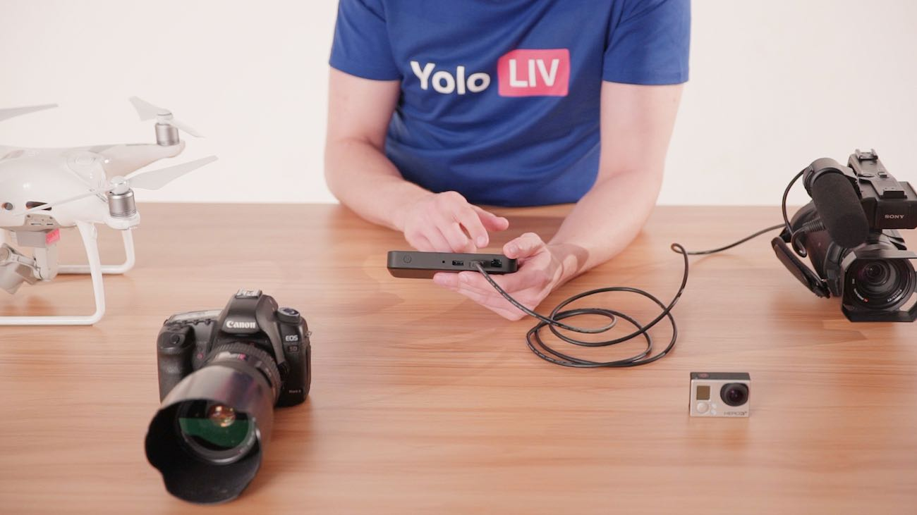 YoloBox Affordable Live-Stream Device