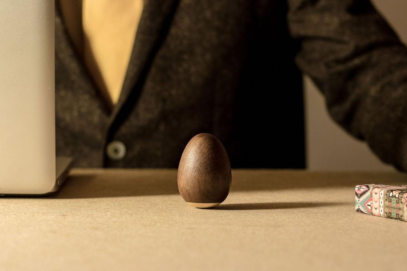 ZenEgg Balancing Wooden Totem