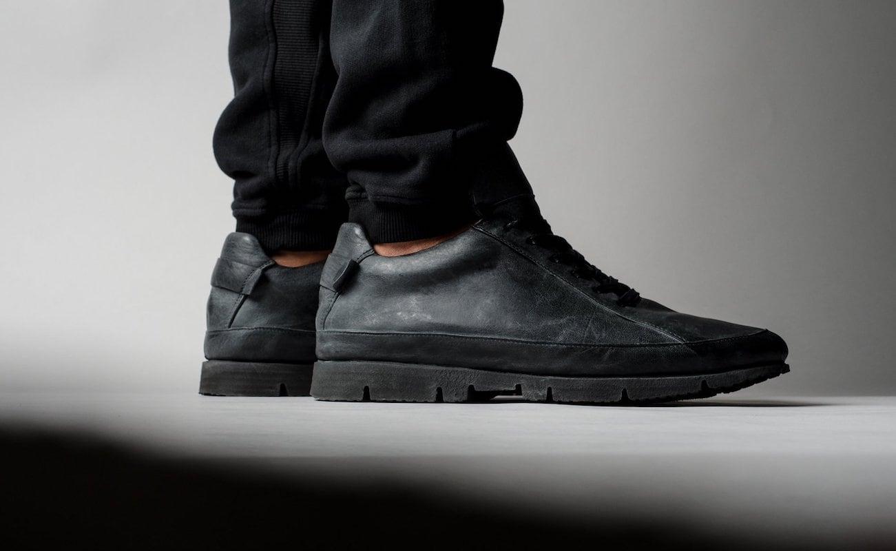 hardgraft S3 Leather Low Top Sneakers