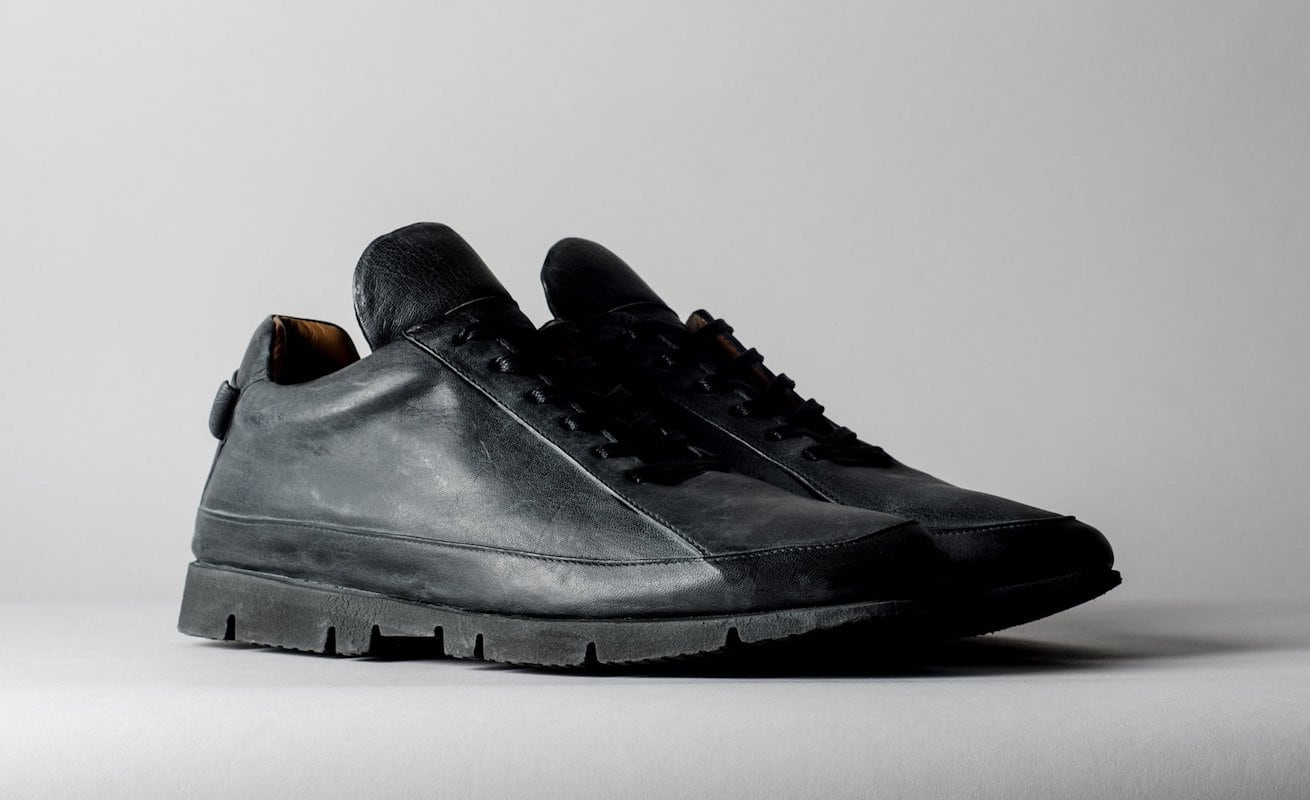hardgraft S3 Leather Low Top Sneakers