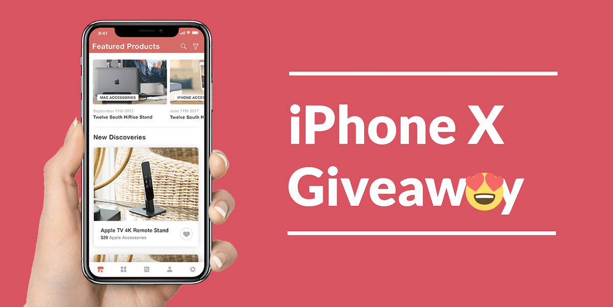 iPhone X Giveaway – Ships on November 20th