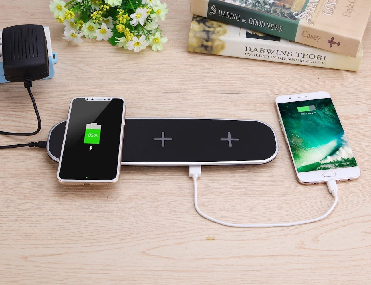 mobfun 3-Coil Wireless Charging Pad