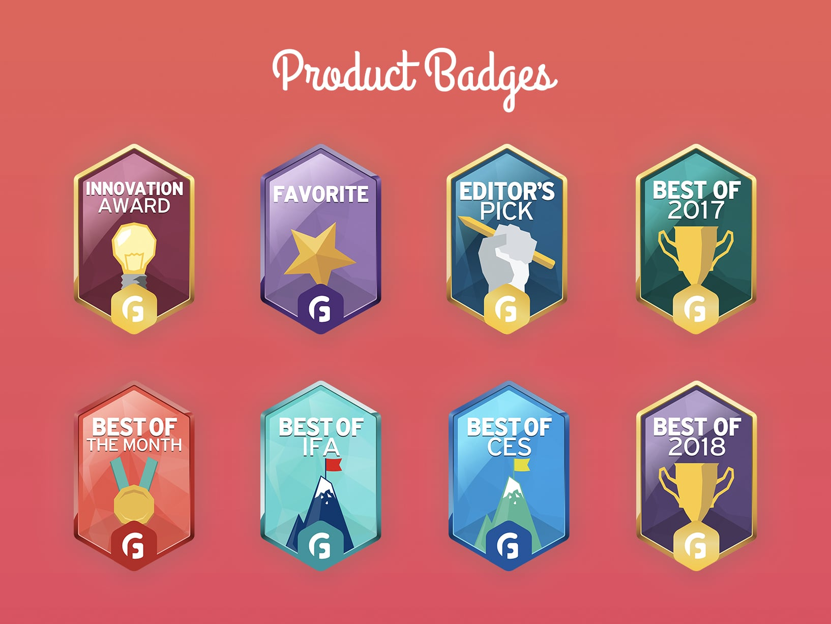 To separate and celebrate those upper echelon products, we're announcing the Gadget Flow Badges.