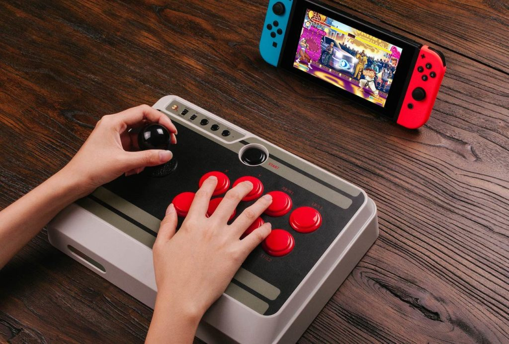 8Bitdo+N30+Arcade+Stick+Controller