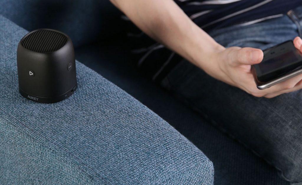 AUKEY+Mini+Metal+Bluetooth+Speaker