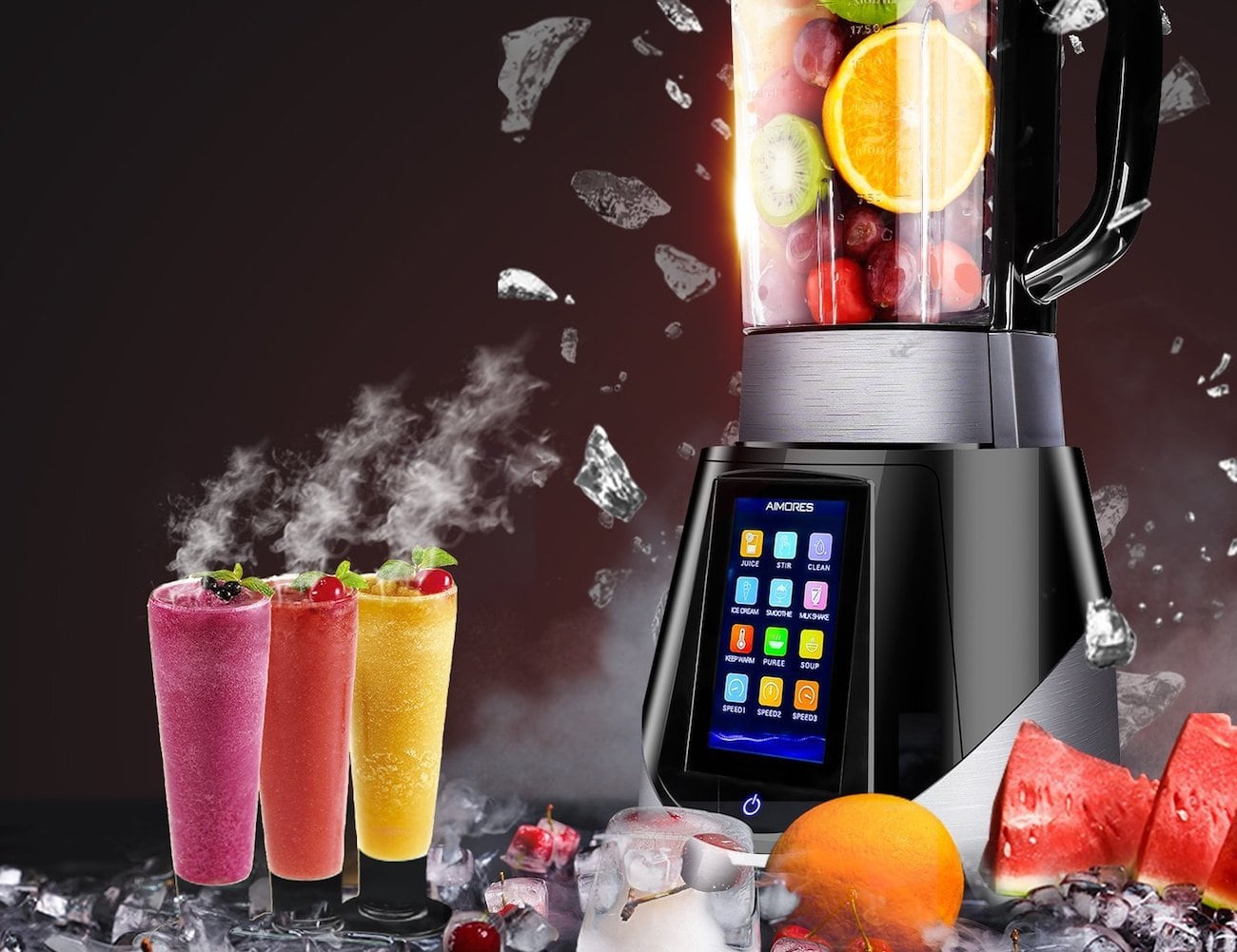 Aimores Commercial Shockproof Blender