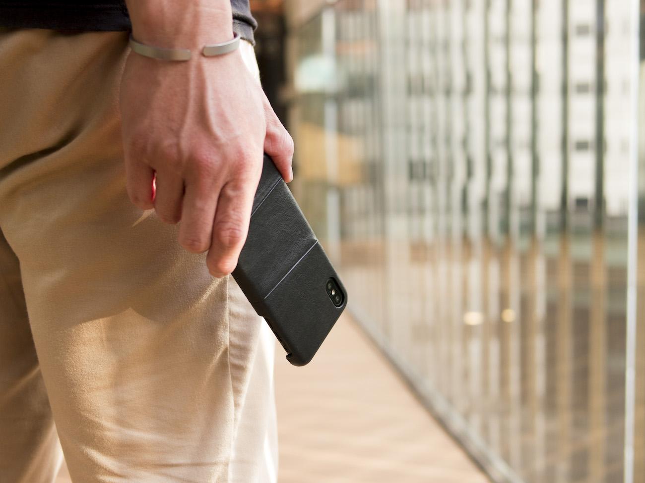 Alto Metro iPhone X Leather Case