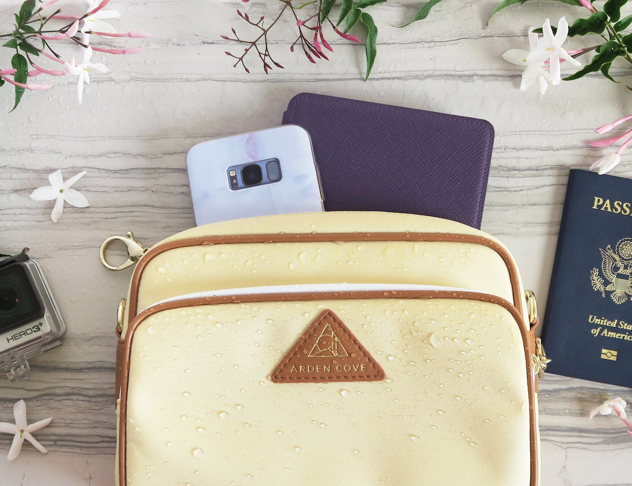 Arden Cove Anti-Theft Waterproof Travel Crossbody