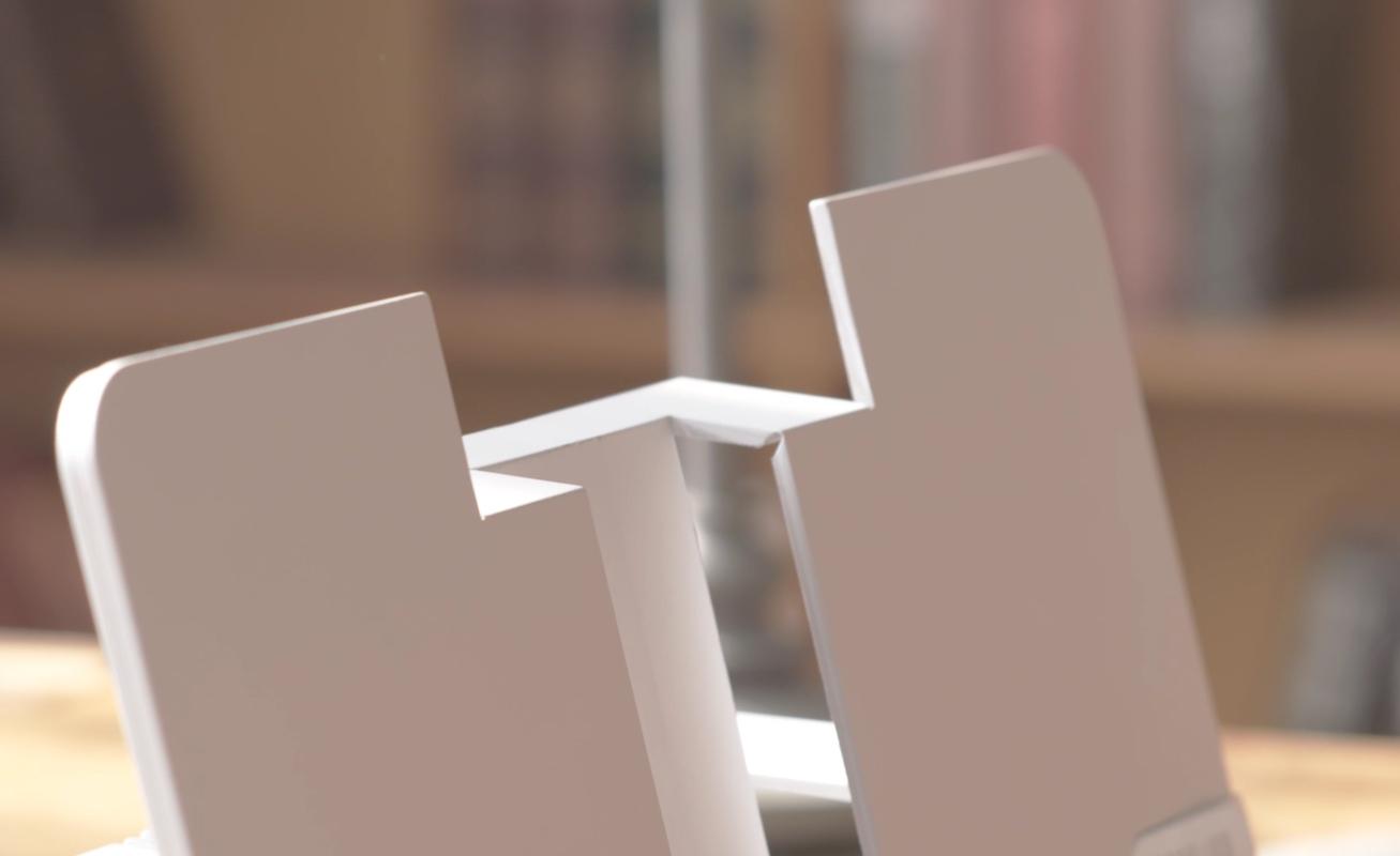 Booklign Slim Foldable Bookstand