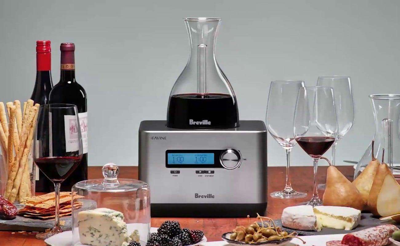 Breville Sommelier Smart Wine Oxygenator