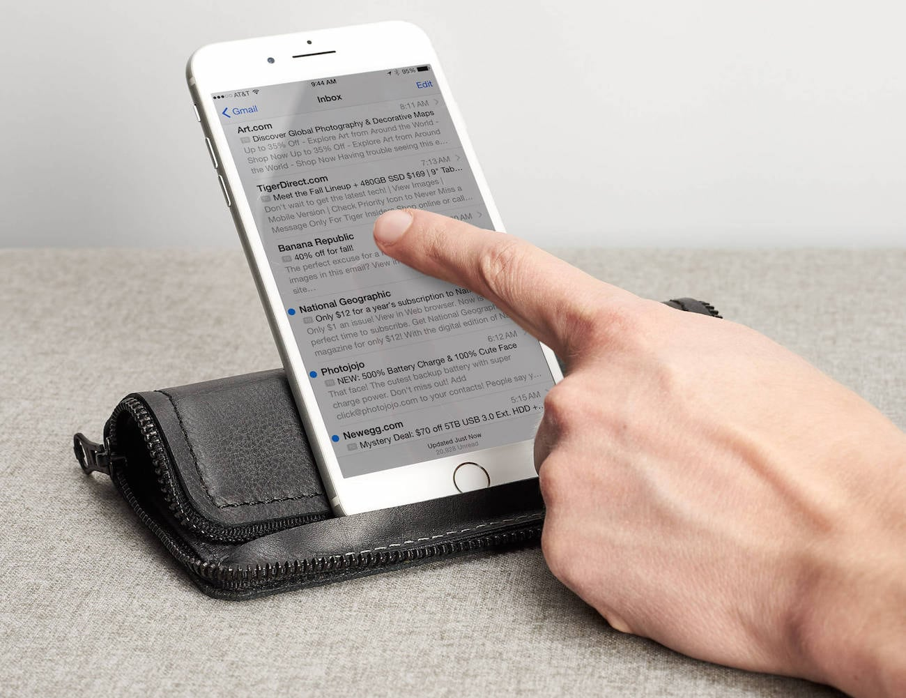 Capra Leather iPhone Wallet Case
