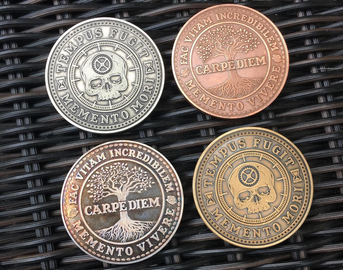 Carpe Diem EDC Pieces